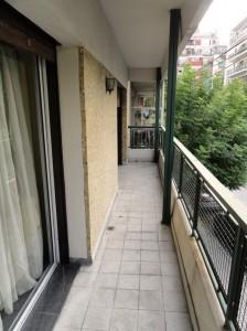 Balcón de los dormitorios