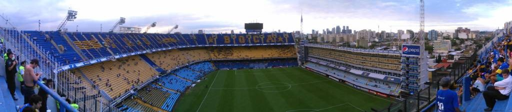 Estadio Boca Juniors, La Boca