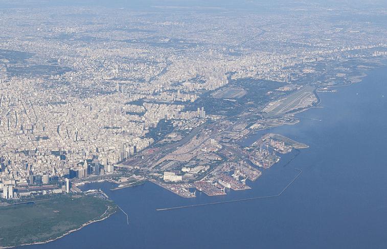 Vista aérea de la Ciudad de Buenos Aires