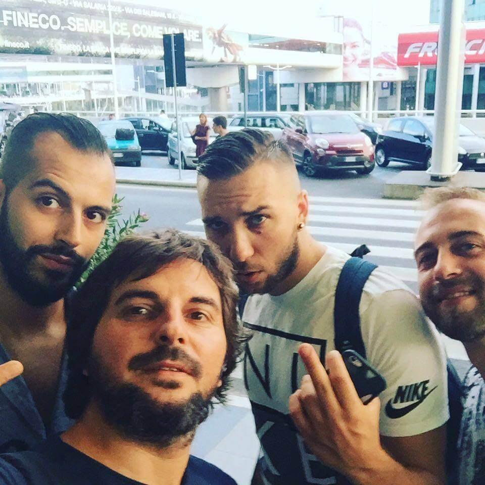 Tancredi, Francesco, Matías y Mario
